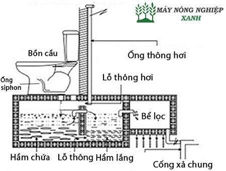 cach dat ong thong hoi ham cau don gian nhat 1 - Cách đặt ống thông hơi hầm cầu đơn giản nhất
