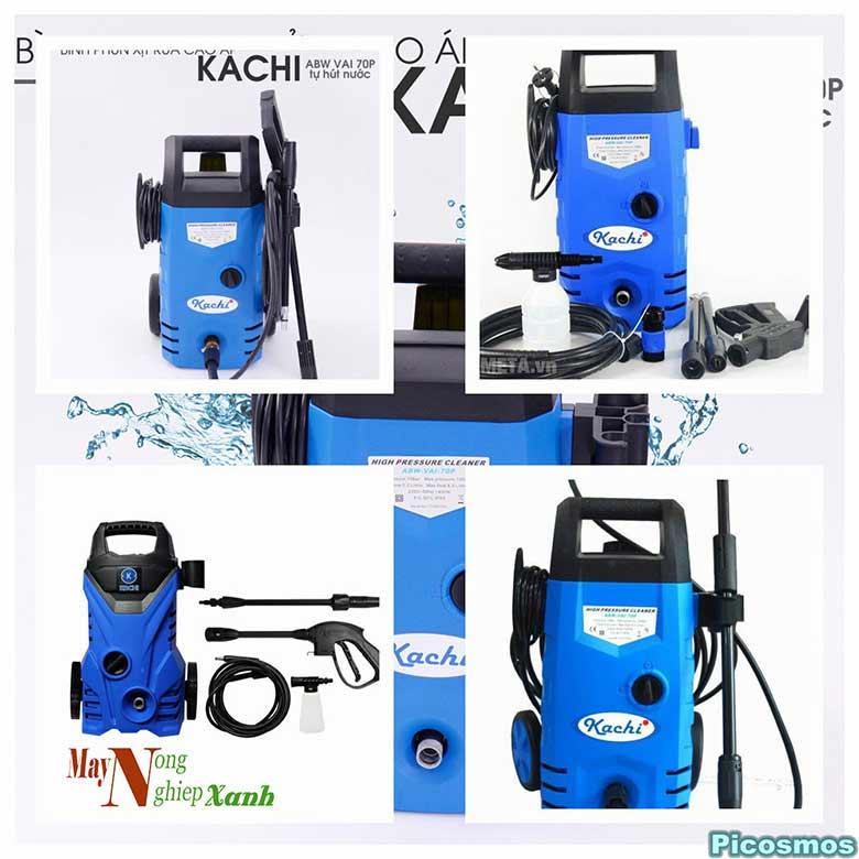 may phun xit rua cao ap kachi chat luong cai tien - Máy phun xịt rửa cao áp Kachi chất lượng cải tiến
