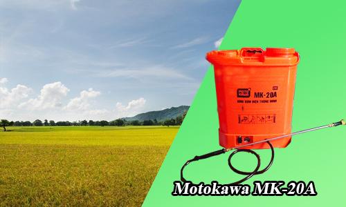 Gioi thieu may phun thuoc chay dien Motokawa MK 20A3 - Nên mua bình phun thuốc sâu bằng điện Motokawa MK-20A vì nhiều lợi ích