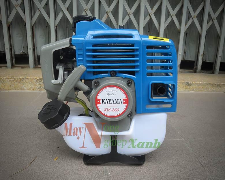 may cat co kayama km 26 chay xang 2 thi 1 - Máy cắt cỏ KAYAMA KM-26 chạy xăng động cơ 2 thì giá rẻ MCC 001