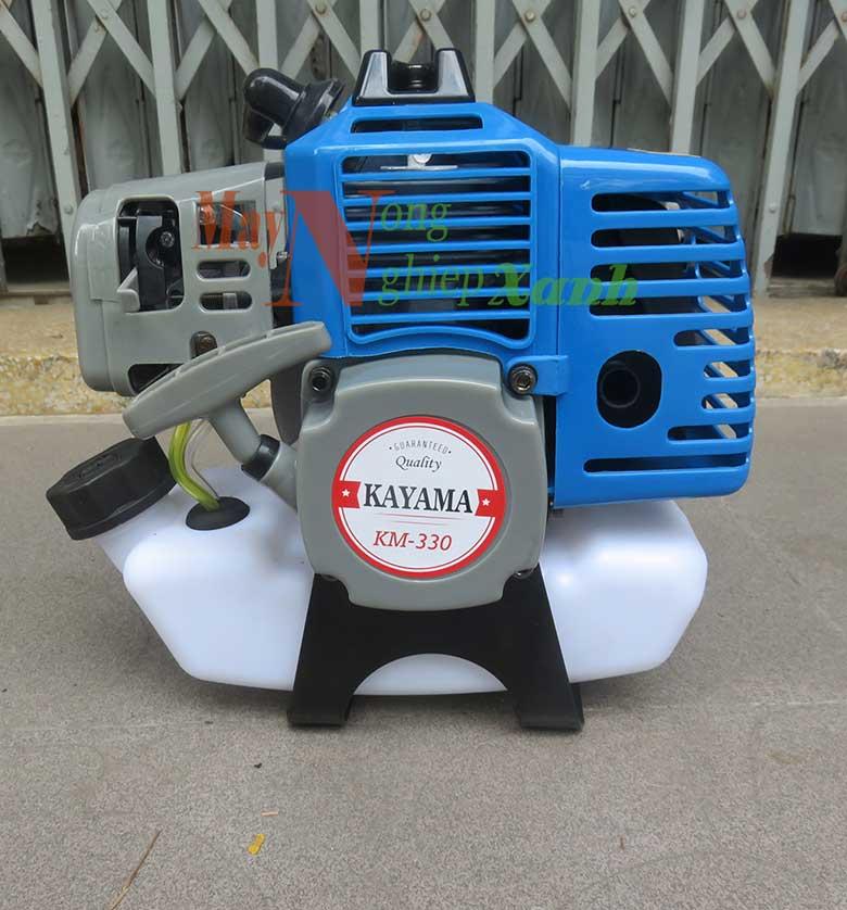 may cat co kayama km 33 chay xang 2 thi 1 - Máy cắt cỏ KAYAMA KM-33 Xăng 2 thì công suất lớn MCC 002