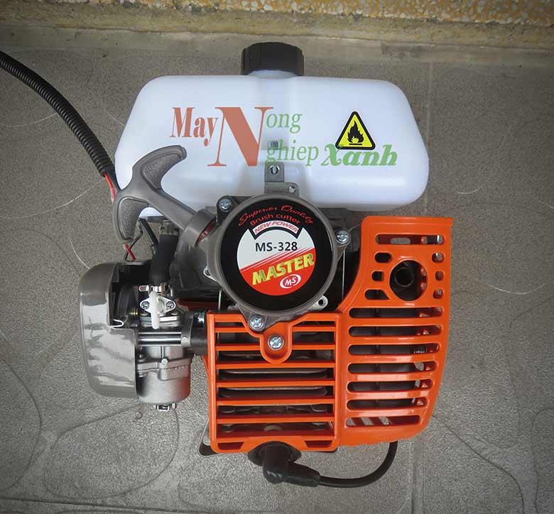 may cat co mater ms 328 chay xang 2 thi 1 - Máy cắt cỏ Master MS-328 động cơ xăng 2 kỳ công suất mạnh MCC 004