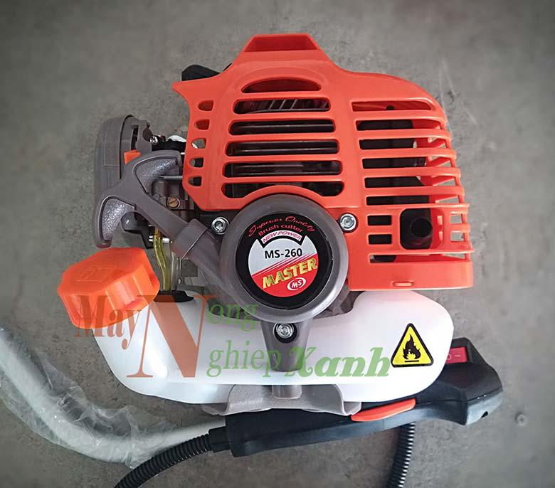 may cat co mater ms260 chay xang 2 thi 1 - Máy cắt cỏ Master MS-260 động cơ xăng 2 kỳ công suất mạnh MCC 003