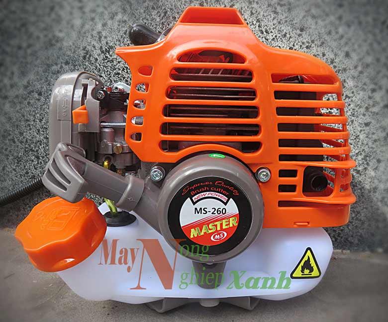 may cat co mater ms260 chay xang 2 thi 2 - Máy cắt cỏ Master MS-260 động cơ xăng 2 kỳ công suất mạnh MCC 003