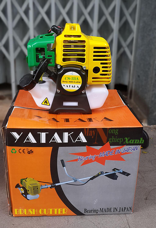 may cat co yataka cs33A 2 thi cong suat lon 1 - Máy cắt cỏ YATAKA CS-33A 2 thì giá rẻ độ bền cao