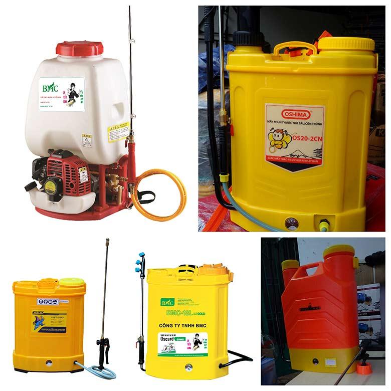 may phun thuoc bang dien nhap khau 3 - Máy phun thuốc bằng điện nhập khẩu tiện ích, an toàn cho người dùng