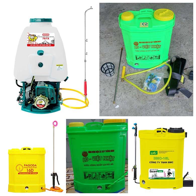 1 - Cách lựa chọn bình xịt thuốc sạc điện và lưu ý khi sử dụng