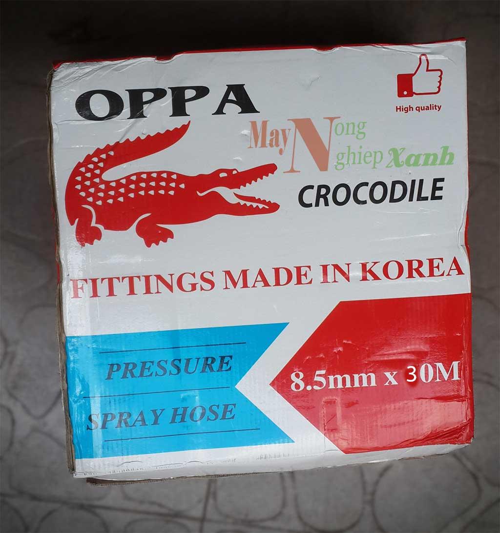 day hoi ca sau oppa 8.5mmx30m 1 - Dây hơi cá sấu OPPA cá sấu xanh 8.5mmx30m
