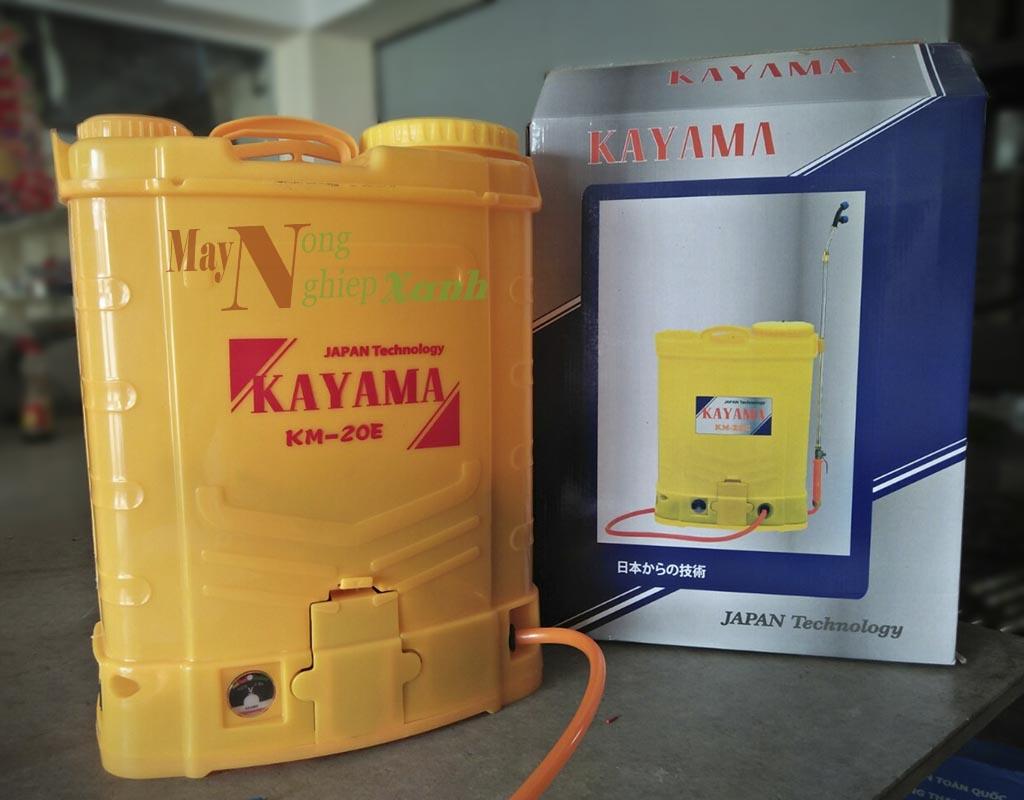 binh xit dien kayama km 20e dung tich 20l - Bình xịt điện Kayama KM-20E dung tích 20L