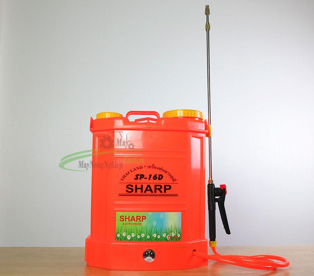 binh xit dien sharp SP 16D dung tich 16 lit 1 - Bình xịt điện Sharp SP-16D dung tích 16 Lít