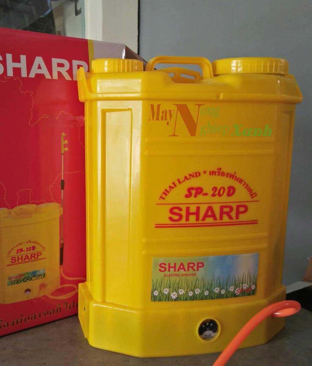 binh xit dien sharp SP 20D dung tich 20 lit - Bình xịt điện Sharp SP-20D dung tích 20 Lít