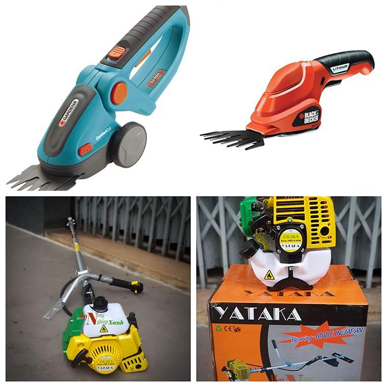 canh bao khi lua chon may cat co mini gia re 3 - Cảnh báo khi lựa chọn máy cắt cỏ mini giá rẻ