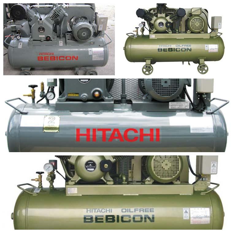 may nen khi piston hitachi 2 - Máy nén khí piston hitachi