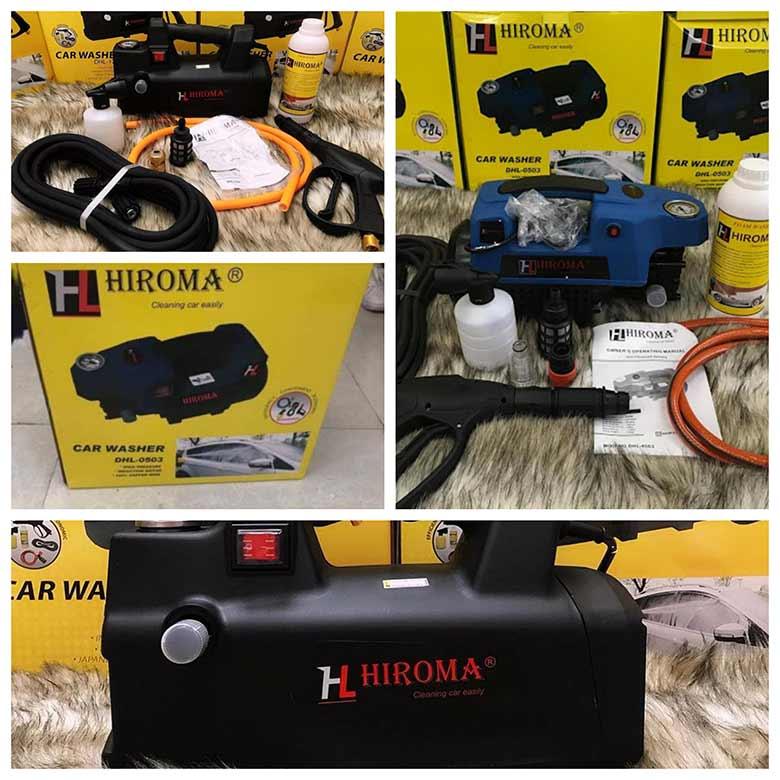may rua xe hiroma co tot khong muc gia nhu the nao 1 - Máy rửa xe Hiroma có tốt không? Mức giá như thế nào?