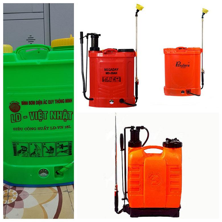 binh phun thuoc tru sau bang dien bmc 2 - Bình phun thuốc trừ sâu bằng điện BMC