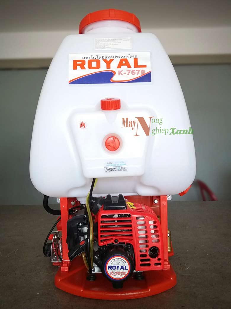 binh xit may royal 2 thi phun thuoc tru sau 1 - Máy phun thuốc trừ sâu ROYAL/ Haruki 2 thì phun thuốc trừ sâu chất lượng
