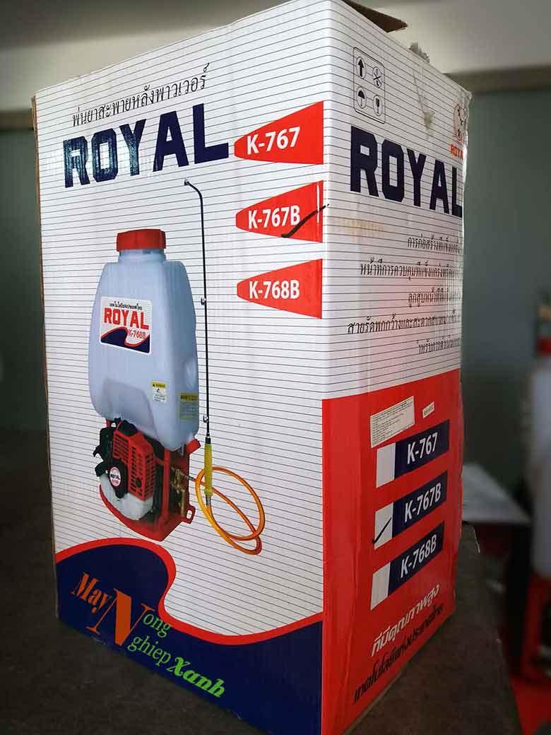 binh xit may royal 2 thi phun thuoc tru sau 2 - Máy phun thuốc trừ sâu ROYAL/ Haruki 2 thì phun thuốc trừ sâu chất lượng