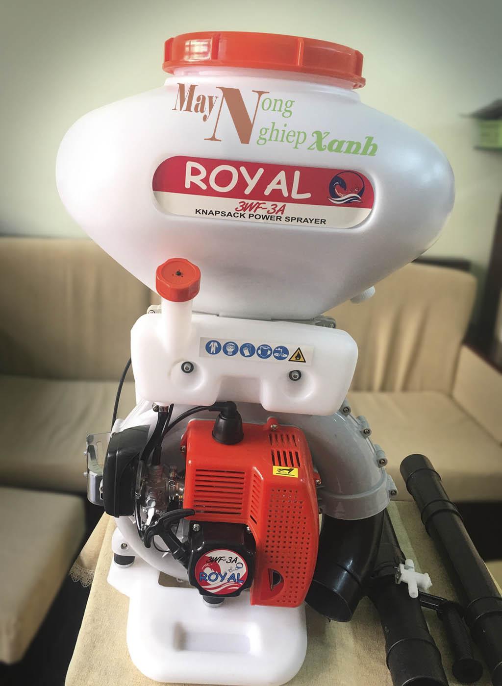 binh xit may royal 2 thi phun thuoc tru sau 5 - Máy phun thuốc trừ sâu ROYAL/ Haruki 2 thì phun thuốc trừ sâu chất lượng