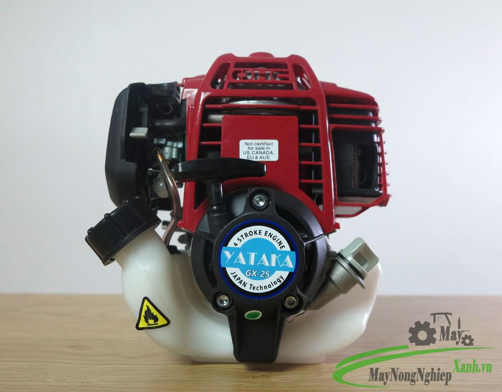 may cat co yataka g25 4 thi may xang 1 - Máy cắt cỏ Yataka GX25 động cơ 4 thì chạy xăng