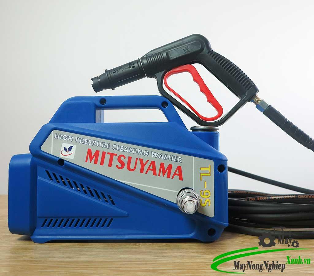 may rua xe gia dinh dung truc tiep Mitsuyama TL9 1 - Máy rửa xe gia đình Mitsuyama TL9S áp lực cao - Dùng trực tiếp