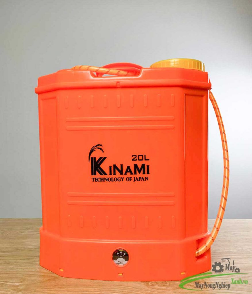 binh xit dien phun thuoc sau kinami pin lithium 20 lit 11 877x1024 - Bình xịt điện phun thuốc sâu Kinami Pin Lithium 20 Lít