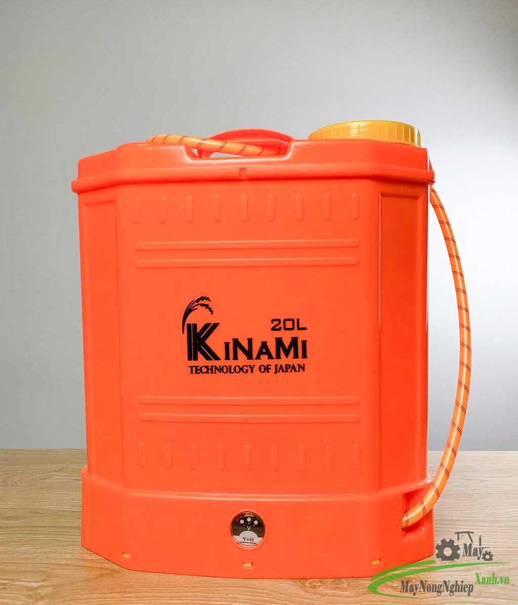 binh xit dien phun thuoc sau kinami pin lithium 20 lit 11 - Bình xịt điện phun thuốc sâu Kinami Pin Lithium 20 Lít