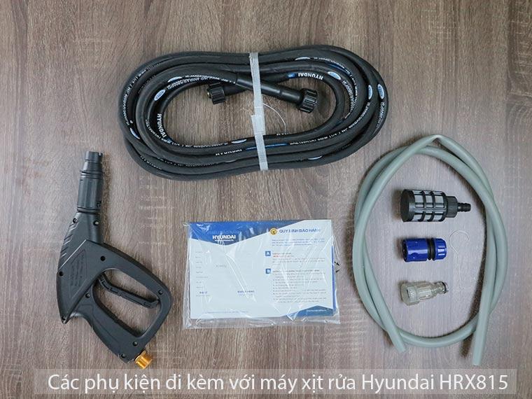 Máy xịt rửa Hyundai HRX815 áp lực 120 Bar Chính Hãng 3 - Máy xịt rửa Hyundai HRX815 áp lực 120 Bar Chính Hãng