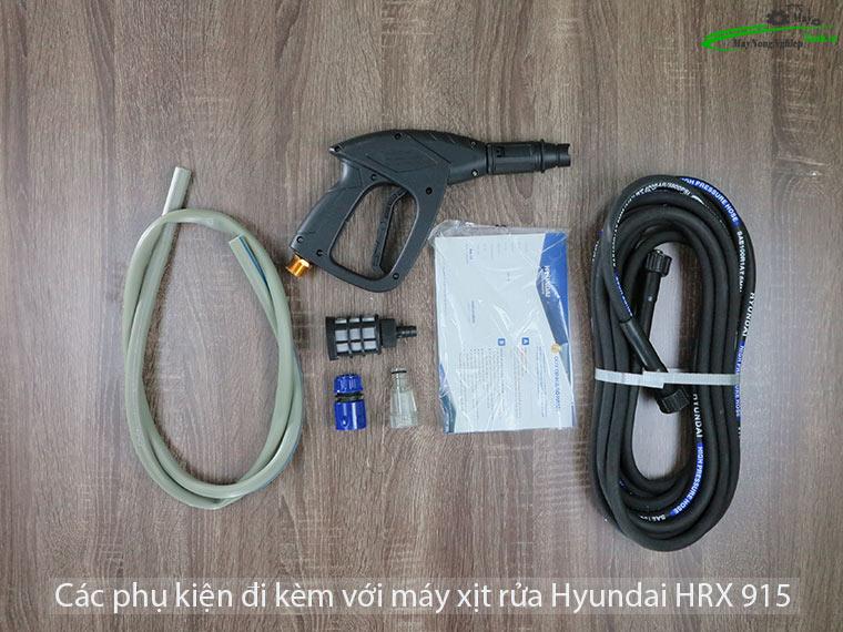 Máy xịt rửa Hyundai HRX915 áp lực Chính Hãng Môtơ từ 3 - Máy xịt rửa xe Hyundai HRX915 áp lực Chính Hãng (Môtơ từ)