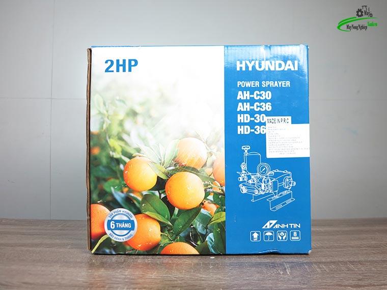 dau xit ap luc ty su hyundai ah c36 2hp pitong su 9 - Đầu xịt áp lực Ty sứ Hyundai AH-C36 2HP (Pitông Sứ) chính hãng.