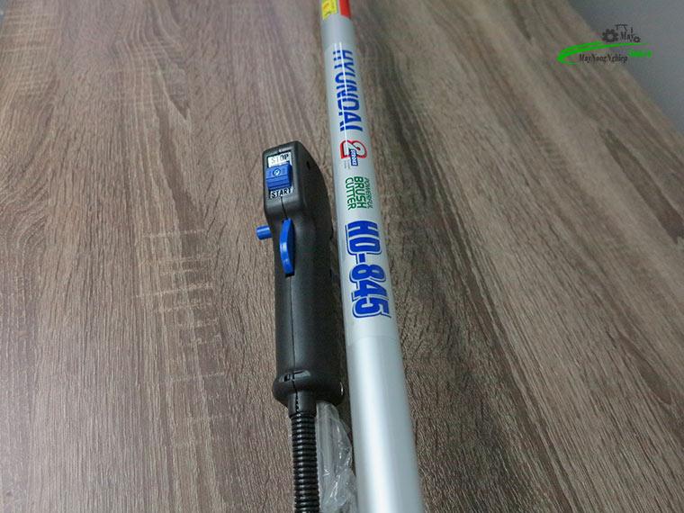 may cat co hyundai 845 nong 40 chinh hang 6 - Máy cắt cỏ Hyundai 845 1.7HP (Nòng 40) chính hãng – Hàng Cao Cấp