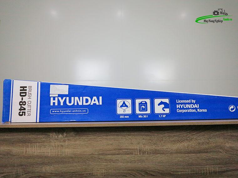 may cat co hyundai 845 nong 40 chinh hang 8 - Máy cắt cỏ Hyundai 845 1.7HP (Nòng 40) chính hãng – Hàng Cao Cấp