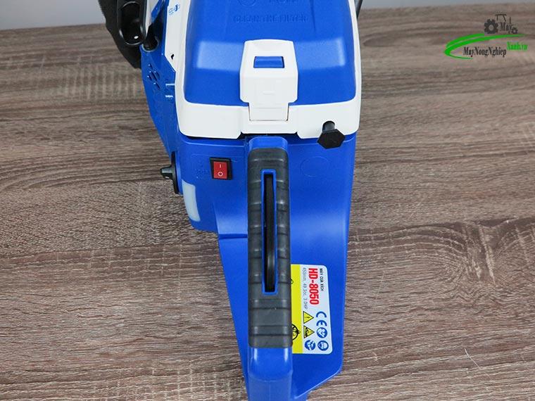 danh gia may cua xich hyundai hd 8050 ban chay 3 - Đánh giá máy cưa xích Hyundai HD-8050 52cc bán chạy của Hãng