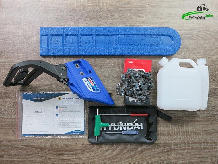 danh gia may cua xich hyundai hd 8050 ban chay 6 - Đánh giá máy cưa xích Hyundai HD-8050 52cc bán chạy của Hãng