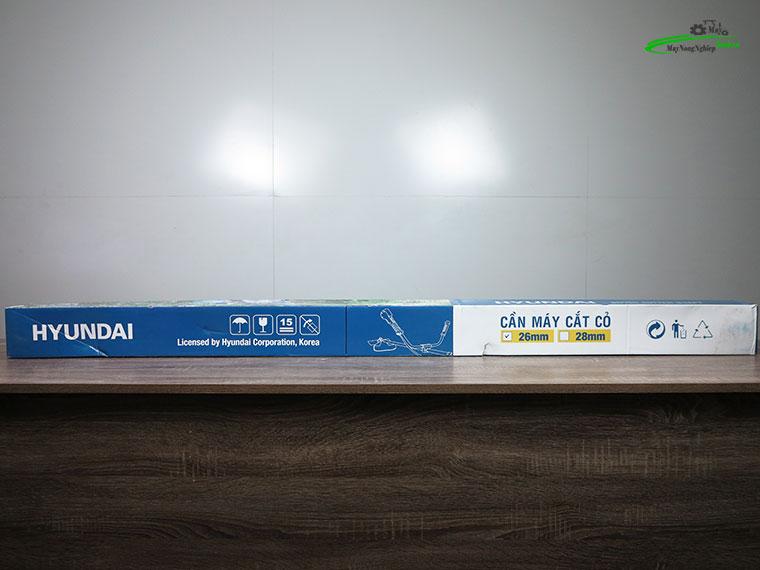 may cat co huyndai htu 28 10 - Máy cắt cỏ Hyundai HTU-28 Nòng 34 0.9HP Chính Hãng (Chế Walbro)
