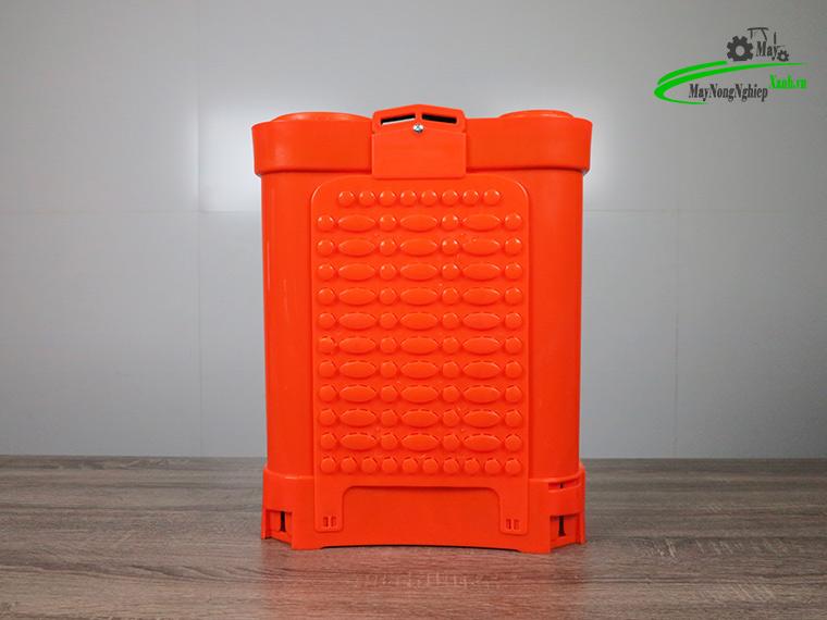 Binh xit dien daewoo 16 lit DAES s2a cam 5 - Bình xịt điện Daewoo 16 lít DAES-S2A Màu Cam 8AH-12V - Chính hãng