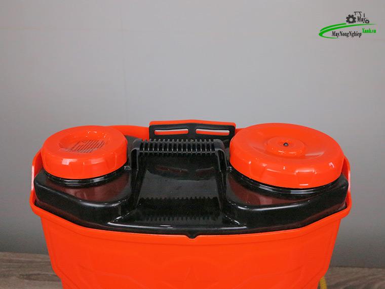 Binh xit dien daewoo 16 lit pin Lithium DAES s2b LT cam 6 - Bình xịt điện Daewoo 16 lít DAES-S2A-LT Pin Lithium 8AH-12V Màu Cam