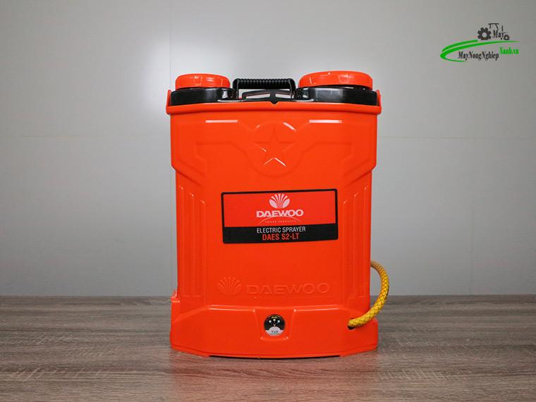 Binh xit dien daewoo 16 lit pin Lithium DAES s2b LT cam 7 - Bình xịt điện Daewoo 16 lít DAES-S2A-LT Pin Lithium 8AH-12V Màu Cam