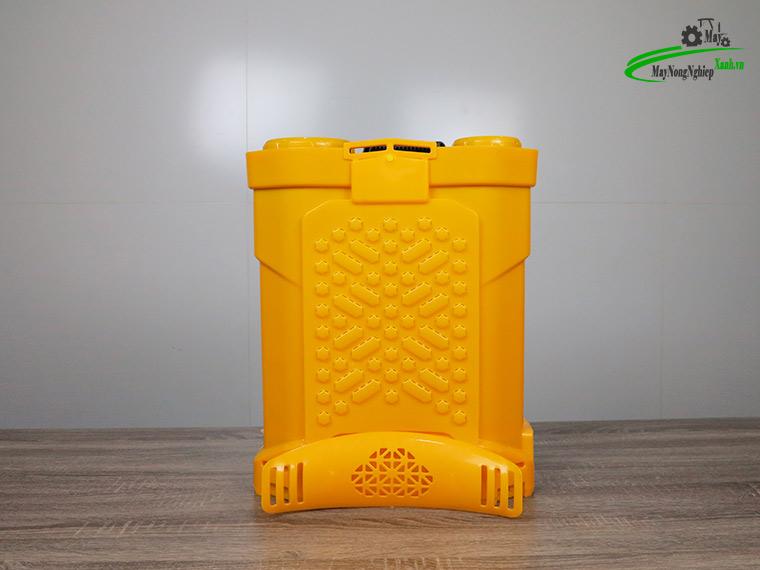 Binh xit dien daewoo 20 lit pin Lithium DAES s3b LT vang 3 - Bình xịt điện Daewoo 20 lít DAES-S3B-LT Pin Lithium 8AH-12V Màu Vàng