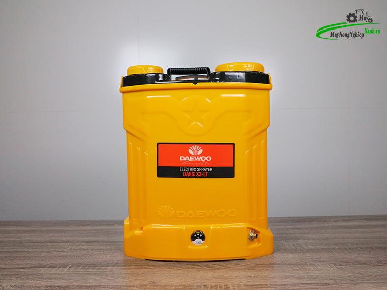 Binh xit dien daewoo 20 lit pin Lithium DAES s3b LT vang 7 - Bình xịt điện Daewoo 20 lít DAES-S3B-LT Pin Lithium 8AH-12V Màu Vàng