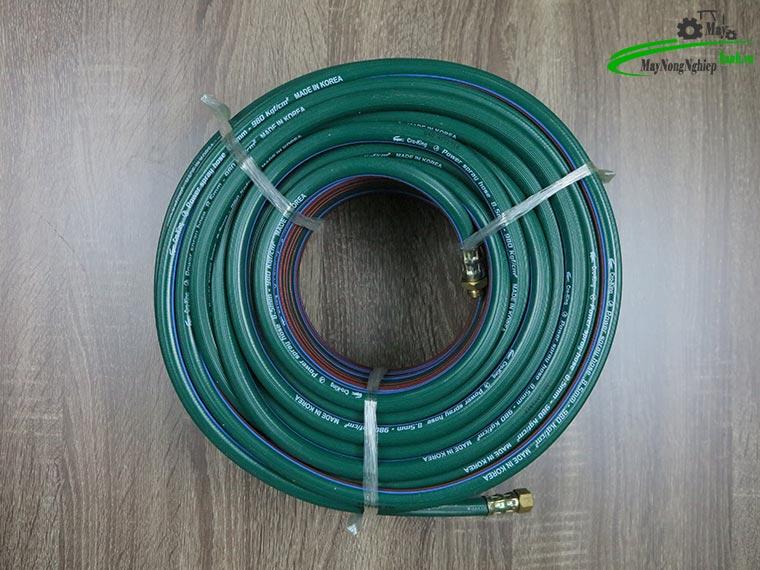 Day phun ap luc Ca Sau CRO KING 8.5mmx50m Han Quoc mau xanh 2 - Cách lựa chọn dây phun áp lực Cá Sấu CRO KING chất lượng và những lưu ý bạn cần biết
