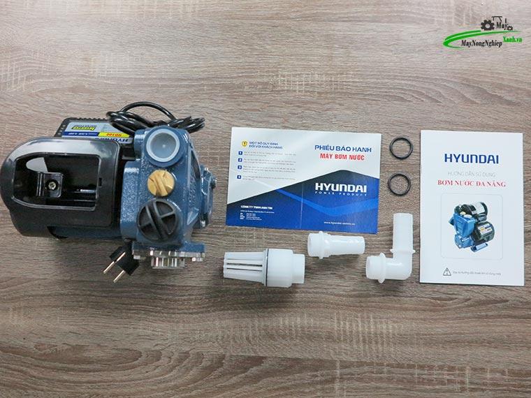 May bom nuoc tang ap Hyundai hd300 300W 2 - Máy bơm nước tăng áp Hyundai HD300 300W/ 0.4 HP