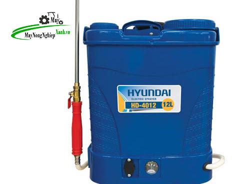 binh xit may phun thuoc sau hyundai hd4012 - Top 5 bình xịt máy phun thuốc sâu Hyundai chất lượng có thể bạn chưa biết