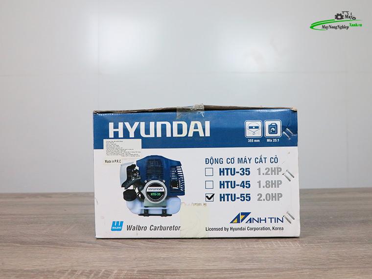 may cat co hyundai htu 55 nong 44 chinh hang 13 - Máy cắt cỏ Hyundai HTU-55 Nòng 44 1.87HP Chính Hãng (Chế Walbro)