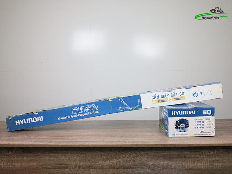 may cat co hyundai htu 55 nong 44 chinh hang 16 - Máy cắt cỏ Hyundai HTU-55 Nòng 44 1.87HP Chính Hãng (Chế Walbro)