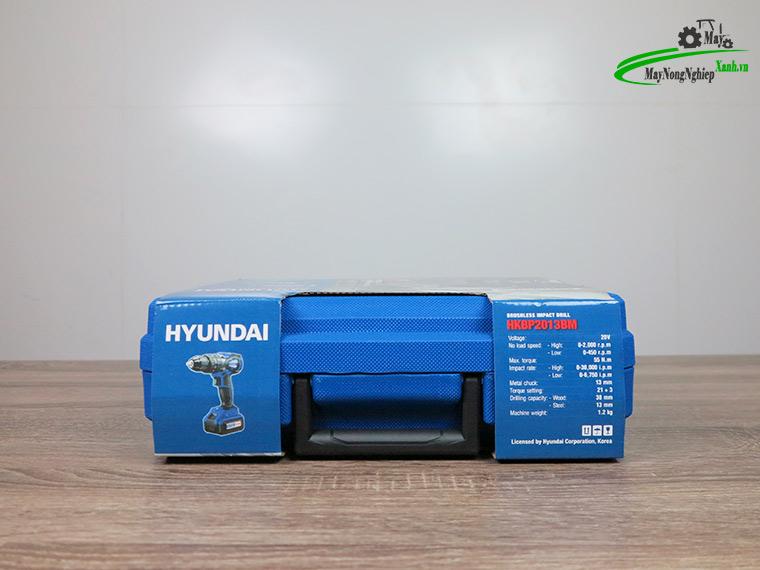 may khoan bua dung pin hkbp2013bm 20v 4ah 12 - Máy khoan búa dùng pin Hyundai HKBP2013BM 20V/4AH