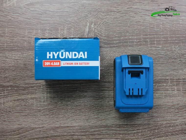 may khoan bua dung pin hkbp2013bm 20v 4ah 6 - Máy khoan búa dùng pin Hyundai HKBP2013BM 20V/4AH