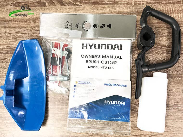 may cat co deo lung hyundai htu 55k nong 44 chinh hang 3 - Máy cắt cỏ đeo lưng Hyundai HTU-55K Nòng 44 2HP Chính hãng
