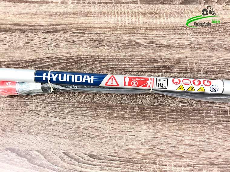 may cat co deo lung hyundai htu 55k nong 44 chinh hang 8 - Máy cắt cỏ đeo lưng Hyundai HTU-55K Nòng 44 2HP Chính hãng