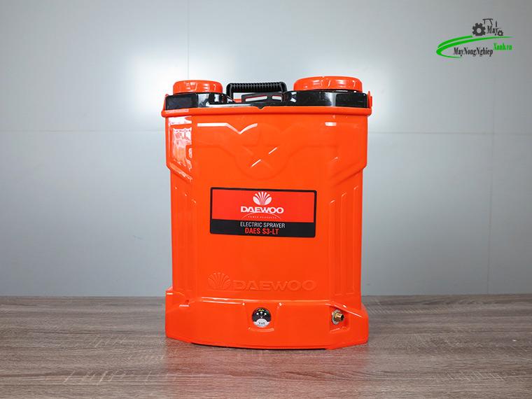 Binh xit dien daewoo 20 lit pin Lithium DAES s3a LT cam 1 - Bình xịt điện Daewoo 20 lít DAES-S3A-LT Pin Lithium 8AH-12V Màu Cam