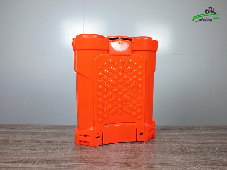 Binh xit dien daewoo 20 lit pin Lithium DAES s3a LT cam 2 - Bình xịt điện Daewoo 20 lít DAES-S3A-LT Pin Lithium 8AH-12V Màu Cam